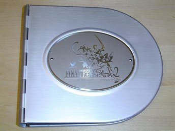FINAL FANTASY X2 CD VÄSKA I METALL *NYTT*