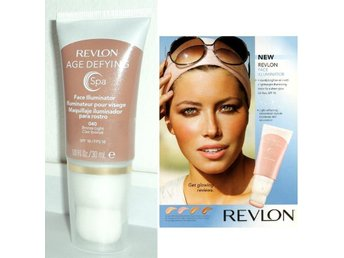 BRONZE LIGHT REVLON Age Defying Spa FACE ILLUMINATOR #040