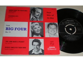 The Big Four No.11 EP/PS Doris Day, Guy Mitchell + 2