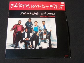 "EARTH WIND & FIRE - THINKING OF YOU 12"" 1987 HOLL"