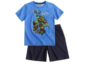 Ninja Turtles blå pyjamas 140 cl