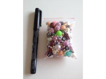 60g blandade pärlor - Skövde - 60g blandade pärlor - Skövde