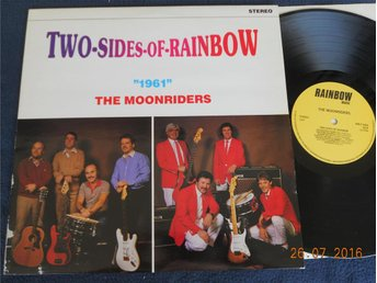 1961/THE MOONRIDERS - Two sides of rainbow, LP Rainbow Music Sverige 1983