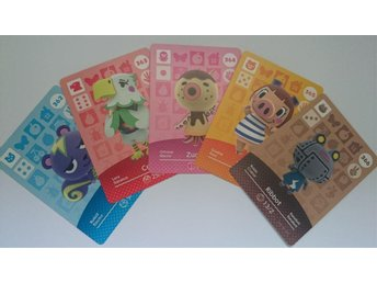 Animal Crossing Amiibo Cards series 4 Nr 362 - 366