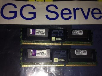 Kingston 8GB kit (2x4GB) Kit PC5300 FB-Dimm KTM5780/8G
