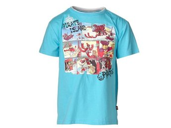 LEGO WEAR, T-SHIRT, PIRATES, TURKOS (128)