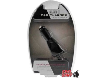 DS & 3DS 2 in 1 Car Charger