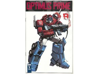 Optimus Prime # 1 NM Ny Import