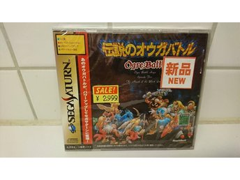 Ogre Battle Sega Saturn (Mint) Japanskt
