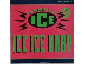Vanilla Ice title*  Ice Ice Baby* Hip-Hop,Rap 90's Cult  EU 12""
