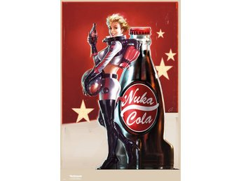 Poster (61x91 cm) - Spel - Fallout 4 Nuka Cola Advert (FP4125)