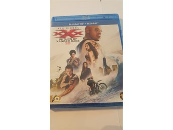 xXx: Return Of Xander Cage 3D + Vanlig BluRay * Inplastad *