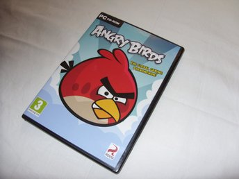 Angry Birds Rovio Engelsk version PC CD ROM 2009-2011