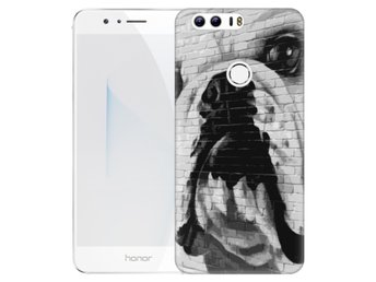 Huawei Honor 8 Skal Hund Graffiti