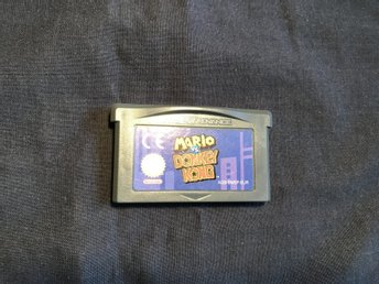 MARIO VS DONKEY KONG GAME BOY ADVANCE GBA NINTENDO