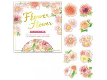 A pack of 40 Japan washitejp washi love flower gift sticker dekorationstejp tejp