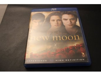 Bluray-film: The Twilight saga - New Moon