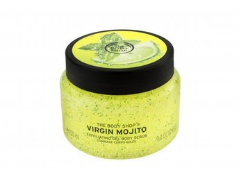 The Body Shop Virgin Mojito Exfoliating Gel Body Scrub 250 ml Ny/Oöppnad!