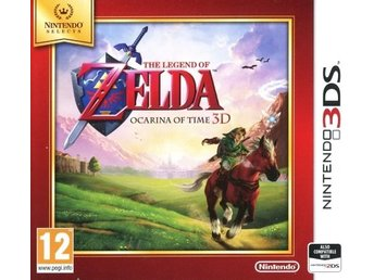 Legend of Zelda: Ocarina of Time 3D (Nintendo Selects) (Beg)