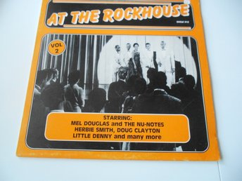 LP - AT THE ROCKHOUSE VOL 2,  ROBIN HOOD BRIANS & DON SARGENT & GENE BROWN . MF