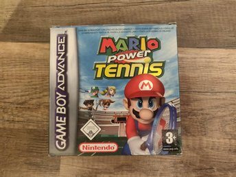 Mario power tennis Komplett GBA