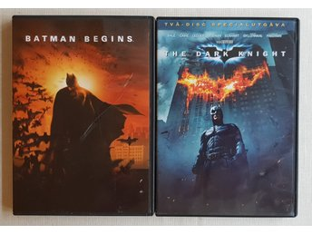 Batman Begins & The Dark Knight DVD