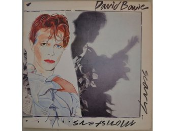 David Bowie Scary Monsters Vinyl LP 1980