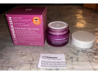 Ole Henriksen Nurture Fresh strat Eye cream Hydrates, Smoothes, Nourshes 15ml NY