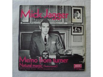 MICK JAGGER - Memo From Turner, Swe-1970 45""