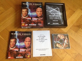 Star Trek:Generations, PC BIG BOX, CD-ROM
