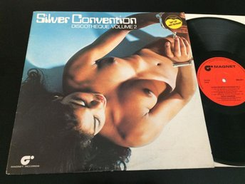 SILVER CONVENTION discoteque vol 2 LP -76 UK MAGNET MAG 5011 nude cover