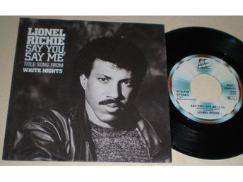 Lionel Ritchie 45/PS Say you say me 1985 M-