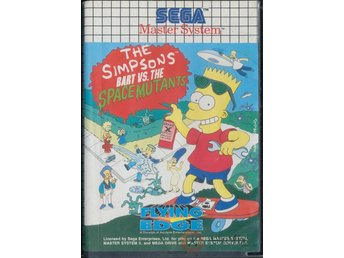 The Simpsons: Bart vs The Space Mutants - Master System