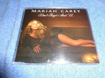 MARIAH CAREY CD SINGEL PROMO DONT FORGET ABOUT US