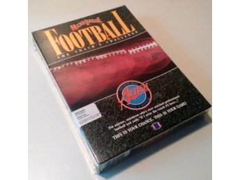 Microleague Football IBM 5-25 Big Box Diskett Samlarex
