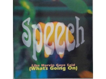 "Speech title* Like Marvin Gaye Said (What's Going On)* House 12"" UK"
