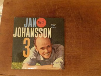 JAN JOHANSSON 3 - Vol. 2 1959 EP