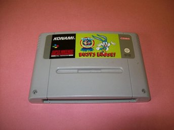 TINY TOON BUSTER BUSTS LOOSE (SNES)
