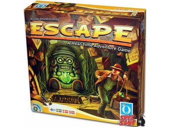 Escape A Real Time Adventure Game (Svensk Version)