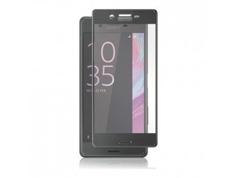 Panzer F-F Curved Temp. Glass Sony Xperia XA Blk