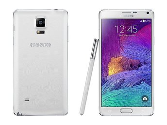Samsung Galaxy Note 4 32GB, vit, frosted white, RIMLIGT SKICK