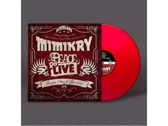 Mimikry: Peace & Live (Red) (Vinyl LP)