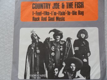 Skivomslag, Country Joe & The Fish