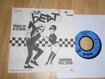 THE BEAT - Tears of a clown Chrysalis Tyskland -79 singel