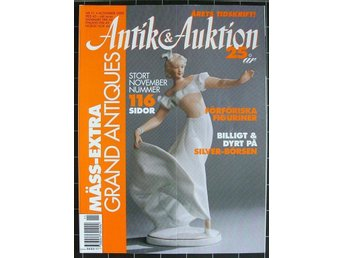 Antik&Auktion 2000/11. Funkis möbler.Art-deco figuriner. Ola Billgren.Små doso