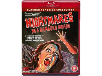 NIGHTMARES IN A DAMAGED BRAIN (1981) Blu-ray *Uncut*