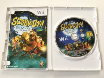 Nintendo Wii - Scooby-Doo! and the Spooky Swamp - Tv-Spel
