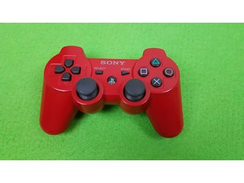 Röd Dual Shock 3 Kontroll DualShock 3 PS3 Playstation3 Playstation 3