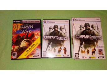 Company of heroes, Dawn of war PC