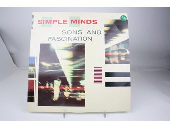 LP -SIMPÅLE MINDS- SONS AND FASCINATIONS-1981